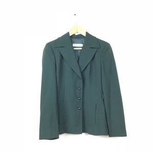 Alberta Ferretti Jacket Blazer Hunter Green 8